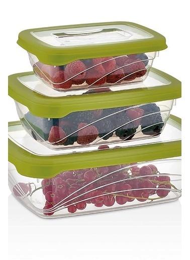 Piaff Home Bio Saklama Kabı Set 3 Adet Renkli